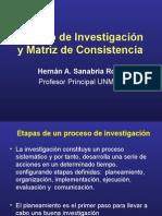 Diseños Observacionmatriz de consistenciaales y Matriz