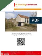 Brochure - Berriehoek 29, Enschede
