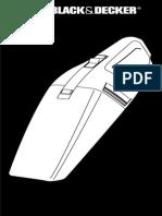 Black Decker VP 331 Dustbuster (1)