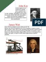 vari personaggi della rivoluzione industriale