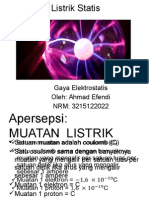 PPT Gaya Elektrostatis