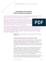 Ley Reguladora de La Responsabilidad Penal de Los Menores Violencia