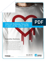 Internet Gateway Security - A State of the Nation 2014 Whitepaper