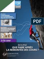 o Patrimoine Mag 31 - Avril 2015
