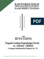 Nishfu Sya'Ban