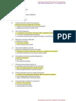Dreptul Afacerilor Complet PDF Cu Raspunsuri