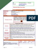 BETTER DRIVE-Antifreeze Liquid MSDS