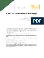 Chapitre 1 - Choix du site et du type de barrage.pdf