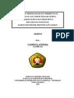 Yashinta Aswinda Teknik Geologi