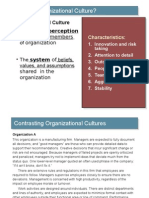 Organisation Culture12th July