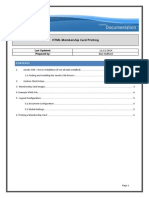 html membership card printing