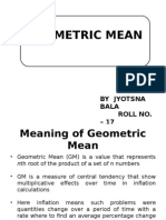 geometric mean ppt