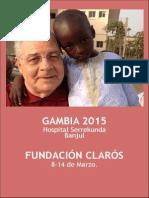 Viaje Humanitario Gambia 2015