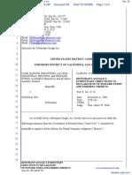 CLRB Hanson Industries, LLC et al v. Google Inc. - Document No. 93