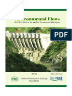 Environmental Flows An Introduction for Water Resources Managers