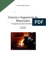 Apuntes de Ciencia e Ingenieria de Materiales