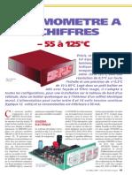 Kit Nouvelle Electronique - Thermomètre à 4 Chiffres