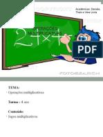 Slide Matemática