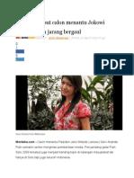 Tetangga Sebut Calon Menantu Jokowi Pendiam Dan Jarang Bergaul
