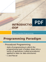 01 Introduction to OOP