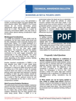 Bulletin 20 - Non-mbr - Guides for Dissimilar Metal Welding