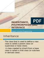 03 Inheritance, Polymorphism and Interface