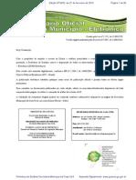 Decreto Manual Diário Oficial
