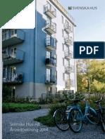 Svenska Hus Årsredovisning 2014