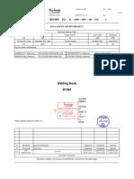 B1304-Welding Procedure Specifications Technip