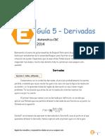 Matematica 51 - Guia 5 Derivadas