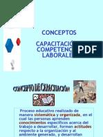 Conceptos de Capacitación Competencias Laborales