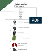 The Devil Wears Prada worksheet