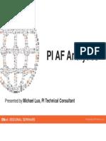 PI AF Analytics