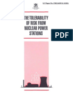Tolerability of Risk From Nuclear Power Plants