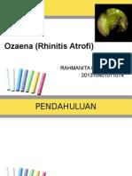 Ozaena