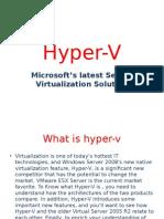 Microsoft Hyper-V Server 2008 Now Available