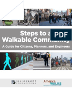 Steps to a Walkable Community