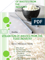 Utilization of Waste From Rice Production