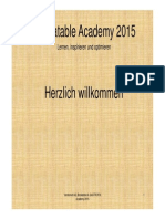 Bookatable Academy 2015