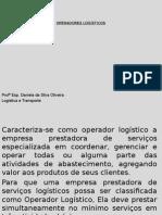 Slide - Operadores Logísticos