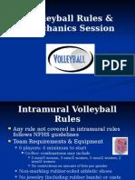 Volleyball Referee Training