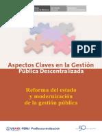 Reforma Del Estado y Modernizaon de La Gestion Publica