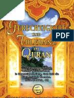 Gerechtigkeit Und Toleranz Im Quran