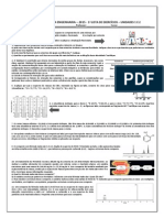 1ª Lista 2015 Química Para Engenharia