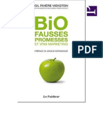 Bio Fausse Promesse Vrai Marketing