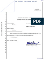 Camino v. Merck & Company, Inc. - Document No. 5
