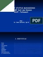 Format Status Mahasiswa.ppt