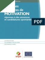 Exemples de Lettres de Motivation