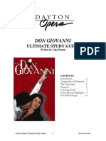 Don Giovanni Ultimate StudyGuide