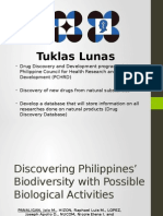 Discovering Philippines Biodiversity With Possible Biological Activities